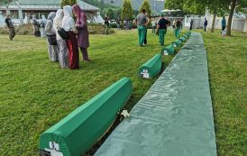 Potočari: Dženaza za devet žrtava genocida u Srebrenici