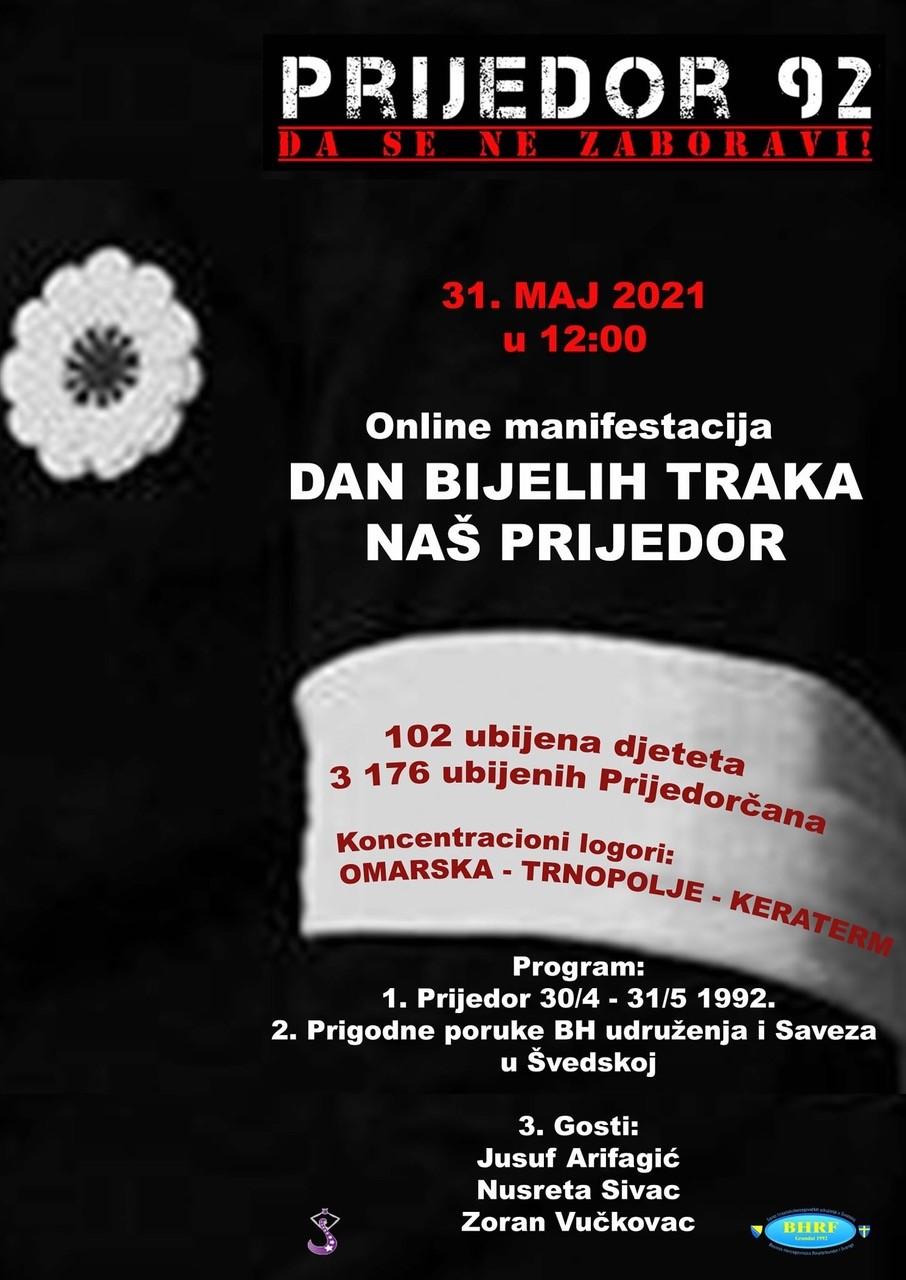 Online manifestacija povodom Dana bijelih traka