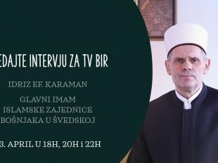 Intervju Idriz-ef. Karamana za Bir TV